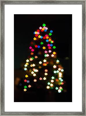 Christmas Stars Framed Print by Mike Lee