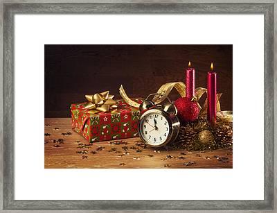 Christmas Still-life Framed Print by Carlos Caetano