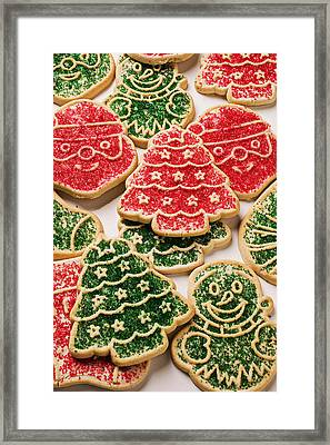 Christmas Sugar Cookies Framed Print