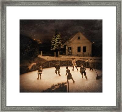 Christmas Tale Framed Print by Akos Kozari
