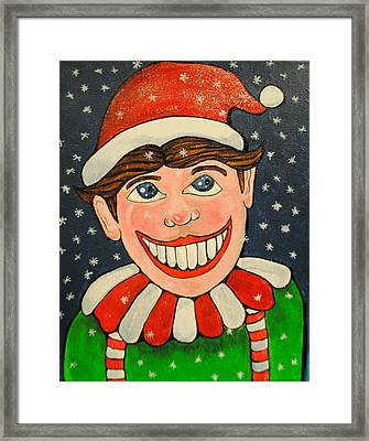 Christmas Tillie Framed Print