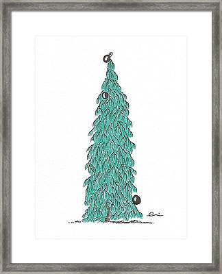 Christmas Tree 6 Framed Print