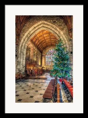 Vaulted Ceilings Framed Prints