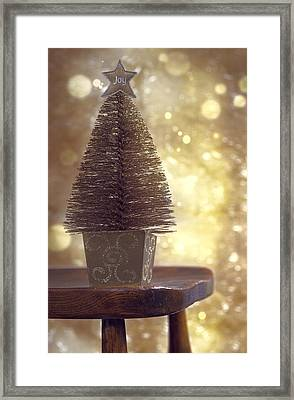 Christmas Tree Framed Print by Amanda Elwell