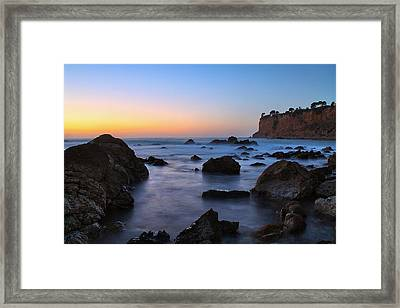 Christmas Tree Cove Framed Print