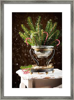 Christmas Tree Decoration Framed Print