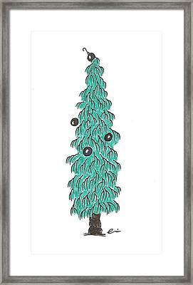 Christmas Tree 4 Framed Print