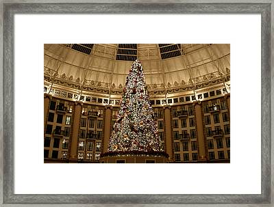 Christmas Tree Framed Print