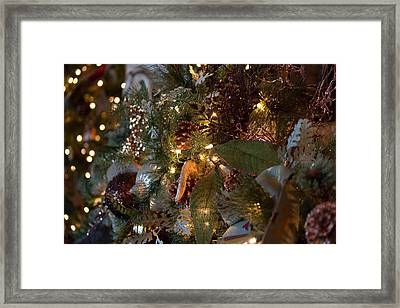 Christmas Tree Splendor Framed Print by Patricia Babbitt