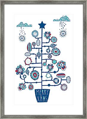 Christmas Tree Framed Print by Susan Claire