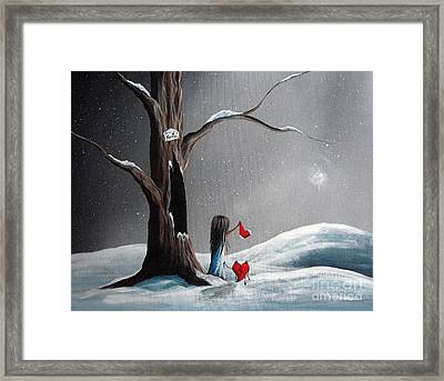 Christmas Wishes By Shawna Erback Framed Print by Shawna Erback