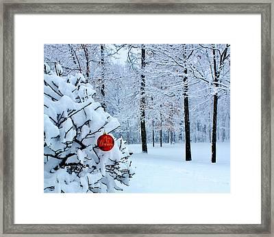 Christmasland Framed Print by Benjamin Yeager