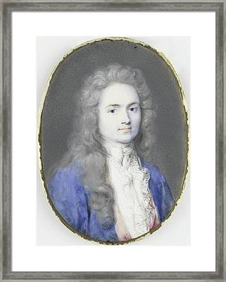 Christoffel Bernhard Julius Von Schwartz 1676-1754 Framed Print by Litz Collection