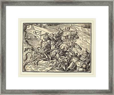 Christoph Murer, The Four Horsemen Of The Apocalypse Framed Print