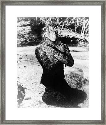 Christopher Lee In The Mummy  Framed Print