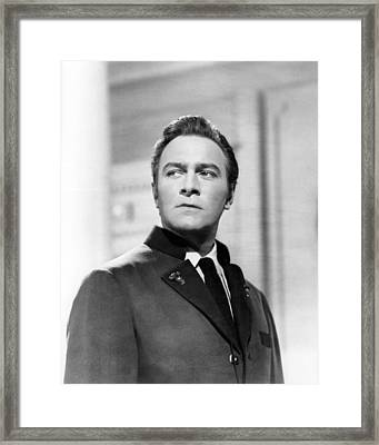 Christopher Plummer In The Sound Of Music  Framed Print by Silver Screen