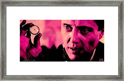 Christopher Walken @ Pulp Fiction Framed Print