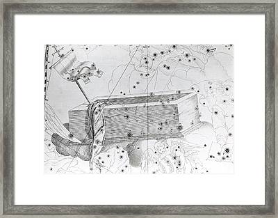Christ's Sepulchre Constellation Framed Print by Royal Astronomical Society