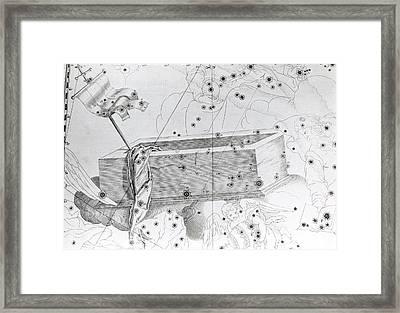 Christ's Sepulchre Constellation Framed Print