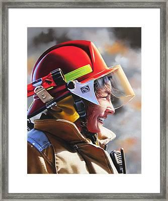 Christy Framed Print by Dianna Ponting