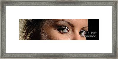 Christy Eyes 89 Framed Print by Gary Gingrich Galleries