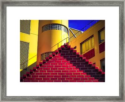 Chromatic Framed Print by Wayne Sherriff