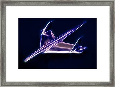 Chrome Jet Framed Print by Phil 'motography' Clark