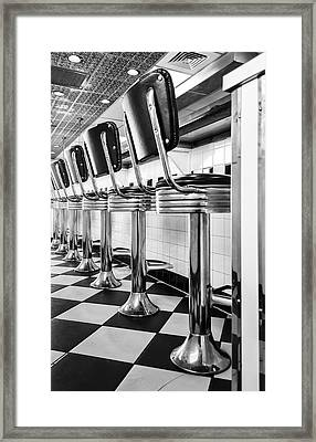Chrome Sequence Framed Print by Stellina Giannitsi