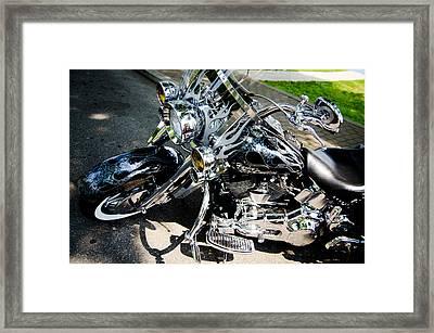 Chromed Framed Print