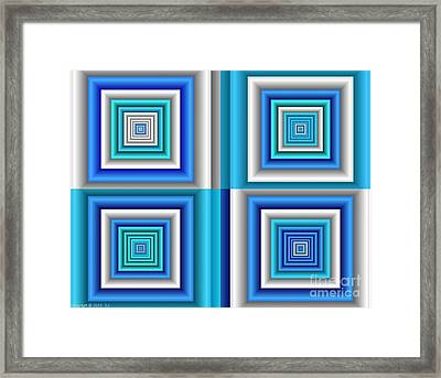 Chromodynamic  5 Framed Print