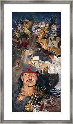 Chronicles De Burque Framed Print by Eric Christo Martinez