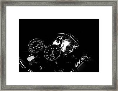 Chronometric Framed Print by Mark Rogan