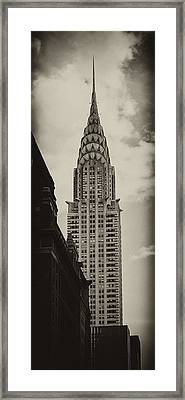 Chrysler Framed Print by Andrew Paranavitana
