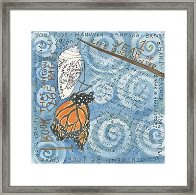 Chrysalis Framed Print by Jennifer Mazzucco