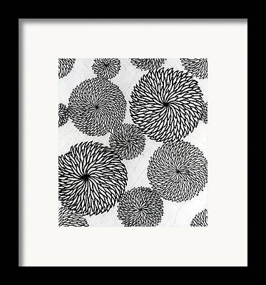 Chrysanthemese Framed Prints