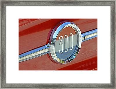 Chrysler 300 Framed Print