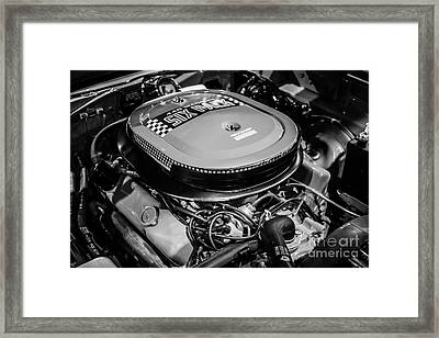 Chrysler 440 Magnum Six Pack Motor Framed Print by Paul Velgos