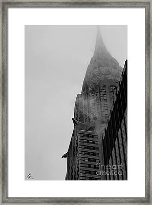 Chrysler Building 1 Framed Print by Chris Thomas