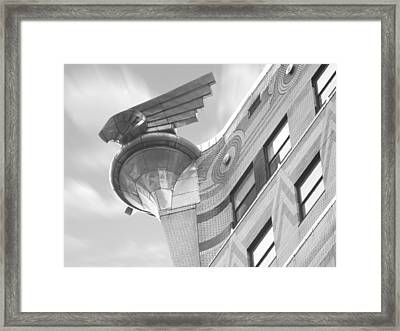 Chrysler Building 4 Framed Print by Mike McGlothlen