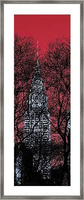 Chrysler Building 8 Framed Print by Andrew Fare
