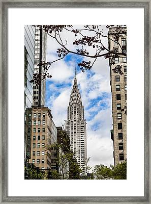 Chrysler Building Framed Print by Chris Halford