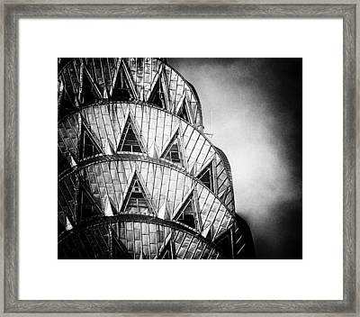 Chrysler Building Crown Framed Print