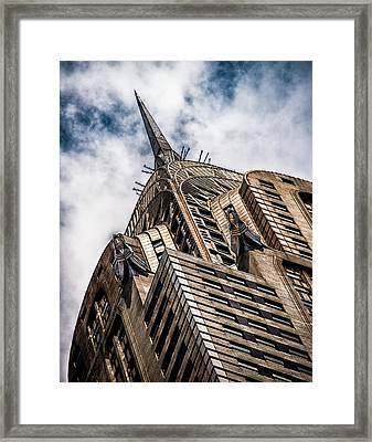 Framed Print featuring the photograph Chrysler Building by James Howe