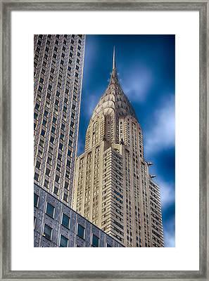 Chrysler Building Framed Print by Joann Vitali
