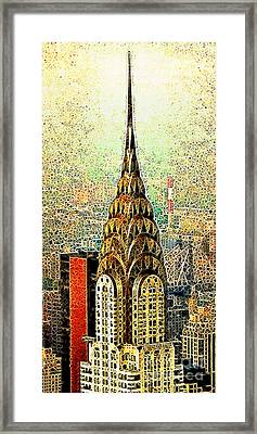 Chrysler Building New York City 20130503 Framed Print by Wingsdomain Art and Photography