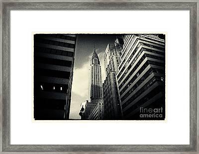 Chrysler Building New York City Framed Print by Sabine Jacobs