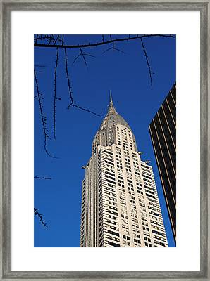 Chrysler Building Framed Print by Robert  Moss