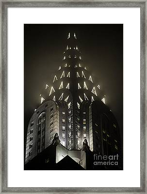 Chrysler Fog Lights Framed Print by Ray Warren