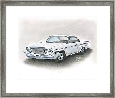 Chrysler Framed Print by Heather Gessell