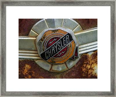 Chrysler Framed Print by Jean Noren